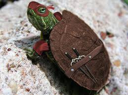 yang ini nih kura-kura ninja WOW nya jangan lupa