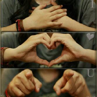 Ini cara gue mengatakan Cinta pada pacar gue, caranya gw kirim foto ini ke dya, eh dya blas I LOVE U TO, kalau kalian suka gambar ini Klik Wow ya !!!