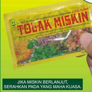 Tolak Miskin !! #JustKidding ya All :D