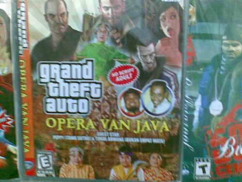 Grand Theft Auto (GTA) Ternyata ada Versi OVJ (Opera Van Java) ahahahahaha... :D kalau menurut kalian ini Keren jangan lupa Klik Wow nya ^_^