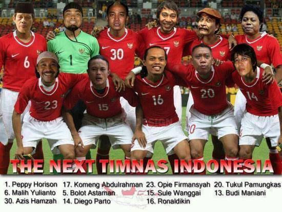 the next timnas indonesia :)