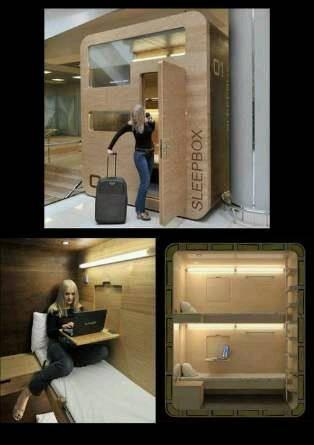 Sleep box yang keren dan unik banget! Mau coba?? Jangan lupa klik WOWnya, yaa!! :)