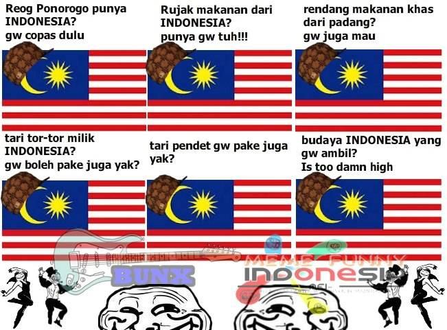 Malaysia.. Copas budaya Indonesia.. :(