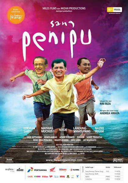 masih inget ngga dengan film Sang Pemimpi?? nah ini adalah versi gokilnyaa tuh.. XD hahah nyentil dikit yaa sama para koruptor.. memang tu orang para Sang Penipu !!!