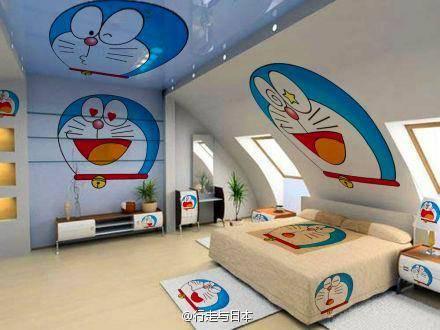 kamar Tidur Doraemon Version!! XD