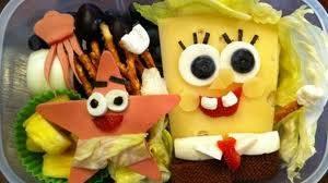 WOW!!! Ini adalah makanan Yg berbentuk Spongebob & Patrick Bagi yg sk nonton Spongebob Squarpant Minta WOW nya yaaa :D