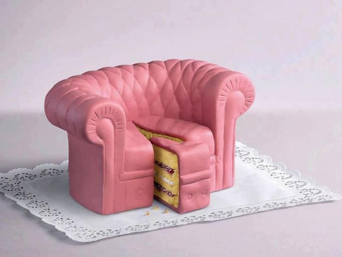 hmm .. Unik juga ya Sob cake Sofa