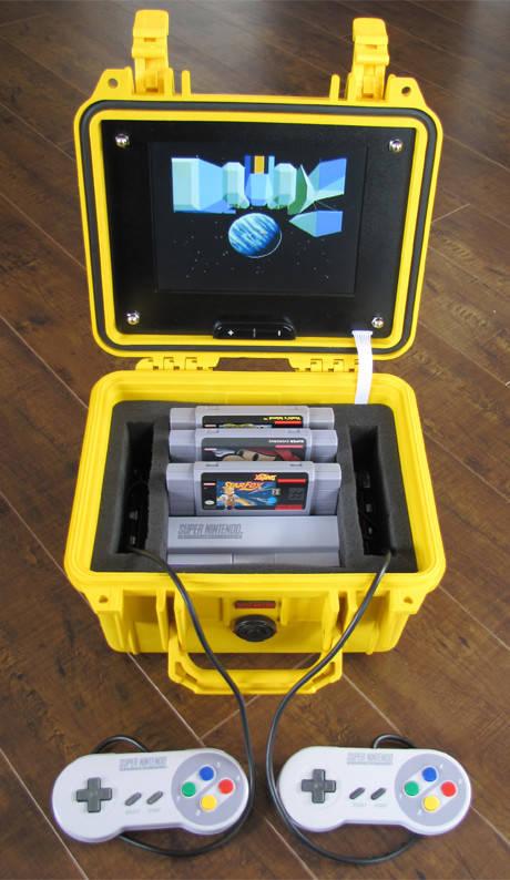Portable SNES.. Keren!