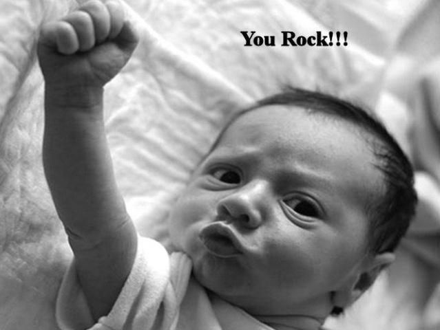 Baby rock calon pejuang kemerdekaan mudah-mudahan bukan teroris