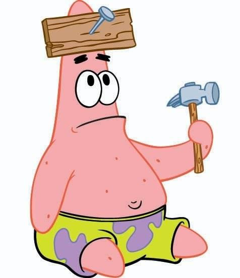 So cute... Yang suka Patrick Star, Klik WOW!!