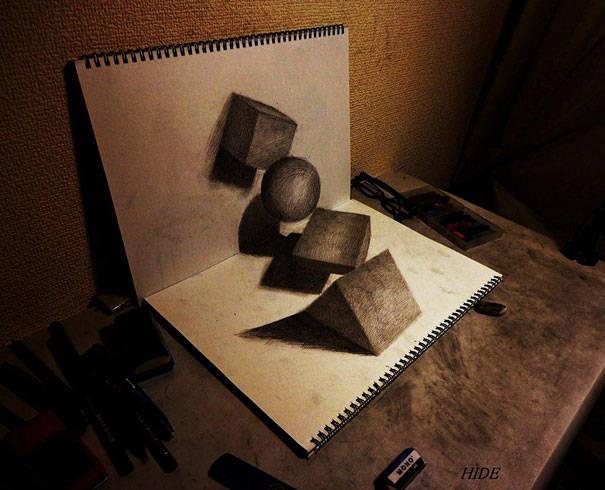WOW!!! Salah satu gambar 3D yang spektakuler. Ada yang bisa pulsker??? WOW nyaaa yahhh~