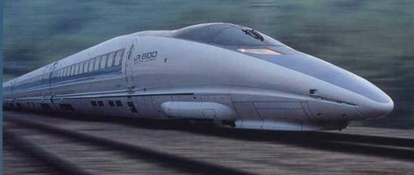 Kereta Api tercepat di Jepang, Shinkansen - Japan , 300km / jam (186 mph) , Top Speed 581km / jam (361mph)