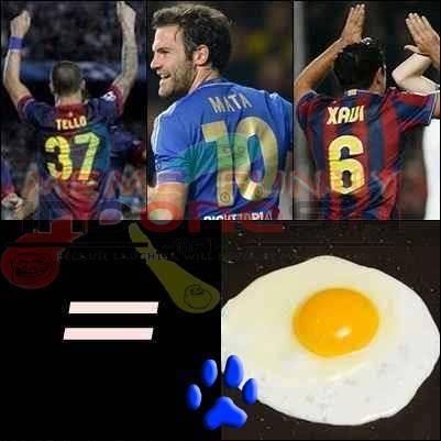 begini nih kalo nama pemain sepak bola di gabungin jadi Tello+Mata+Xavi=Telor Mata Sapi