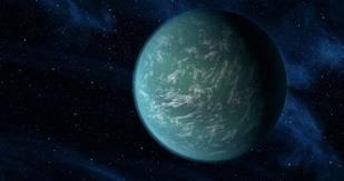 wow,,,ini adalah planet baru yang bernama kepler 22-b,sekilas memangmirip dengan bumi,planet ini disebut juga kembaran bumi,,,