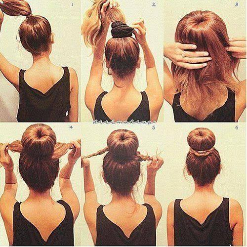 Model rambut Bunheads . Cara buatnya . KLIK WOW jgan lupa ya :)
