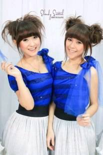 si kembar felly chibi dan christy wow dong please