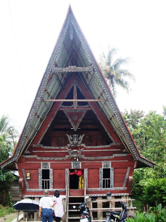 Panorama Keindahan Alam sekitar kampung halaman orangtua di Tomok Pulau Samosir , Sumatera Utara