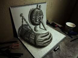 hanya dengan pensil saja bisa begini..keren ya,kaya bukan di gambar. silahkan klik Wow seikhlasnya