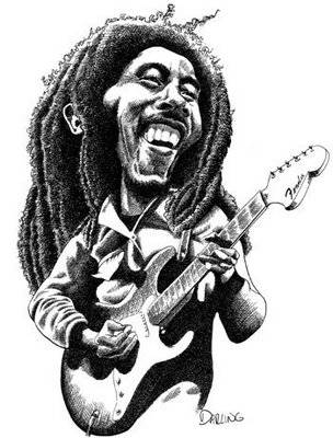 BOB Marley (cartoon) Kalo memang pecinta reggae KLIK WOW (we O we)