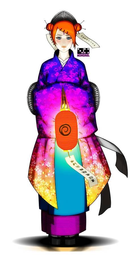 Mito Uzumaki, adalah Istri dari Hokage Pertama dan Jinchuriki Pertama Kyuubi, Bisa dikatakan dia adalah neneknya Naruto Uzumaki. Keahliannya adalah bisa merasakan hawa jahat disekitarnya.... Kasih WOWnya ya Sobat?