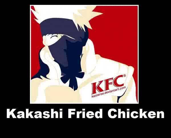 KFC ( Kakashi Fried Chicken ) makasih udah klik wow :)