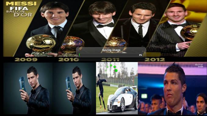 Ronaldo Vs Messi 2009 - 2012 JANGAN LUPA CLIK WOW yah