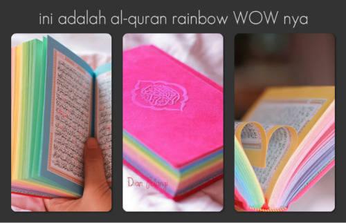 ini lah quran rainbow