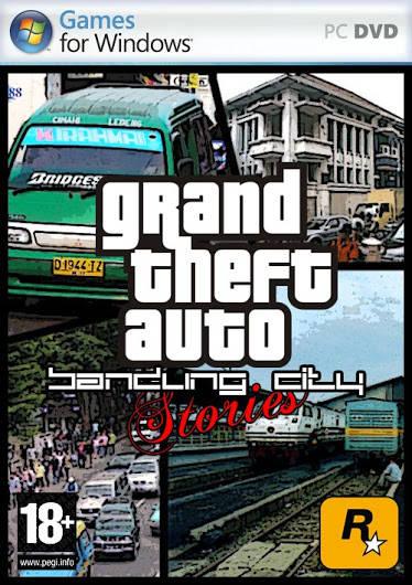 inilah game Grand Theft Auto (GTA) terbaru buatan indonesia... :v