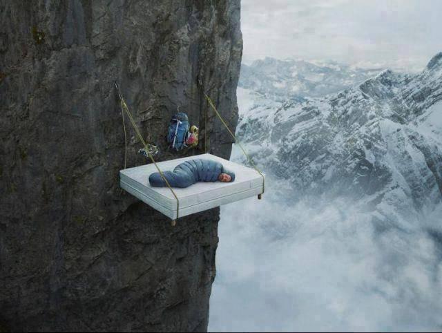siapa yang mau tidur di sini ? kalo yang gak mau bilang WOW yah thanks