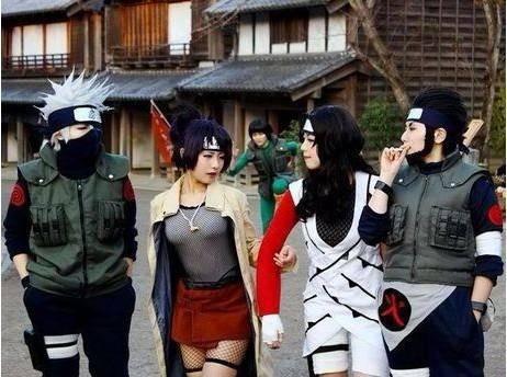 Konohas Jounin-Level Ninjas Cosplay!!