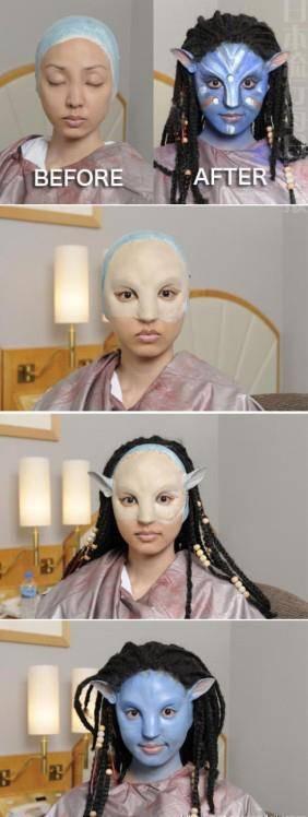 Cara membuat Caracter Avatar!!