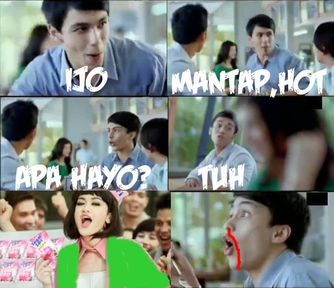 Ijo,Mantap,Hot.Apa Hayo?