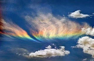 Fire Rainbowww ..Fenomena Unikk,Nyata,dan Menakjubkan Amazinggg
