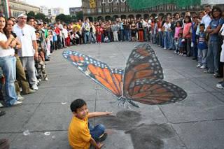WoW!Kupu kupu raksasa!Tenang ini hanya gambar 3D saja.WoW!!!