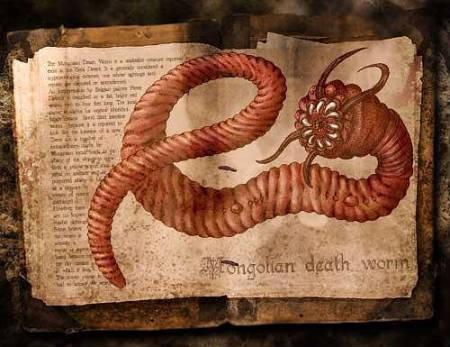 death worm ini dapat ditemukan di gurun gobi.. hewan ini dapat menyemburkan racun atau dapat mengeluarkan listrik. jika kita menyentuh hewan ini akan dapatmenyebabkan kematian mendadak. brbntuk usus sapi.. JIKA MENARIK KLIK WOW & KOMENT :D