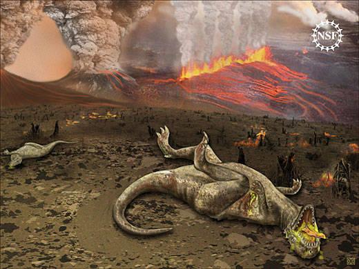 Sebuah asteroid besar yang jatuh ke bumi menjadi penyebab utama kematian dinosaurus. Pernyataan itu diungkapkan para ilmuwan dalam sebuah panel yang diikuti 41 pakar dari seluruh dunia. JIKA MENARIK KLIK WOW & KOMENT :D