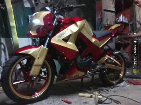 Yamaha Iron Man!