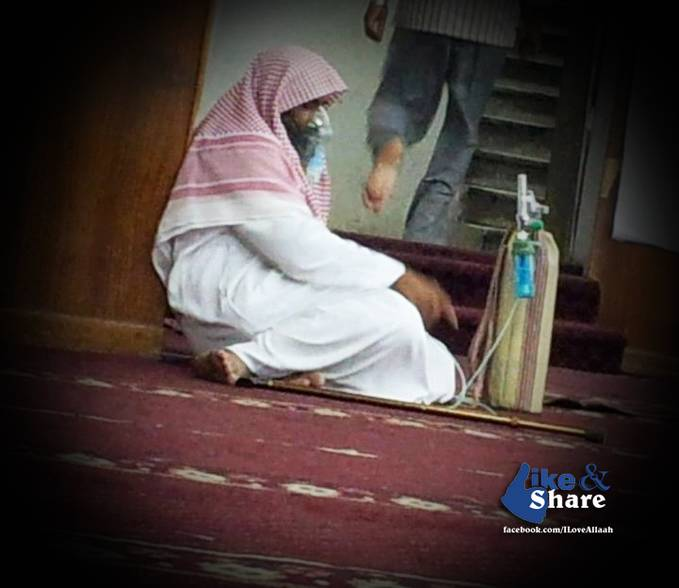 If he can offer prayer while being sick... So... Whats your excuse?