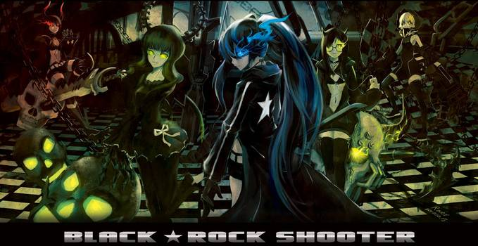 Anime Black-Rock Shooter Da yg tau anime ini?