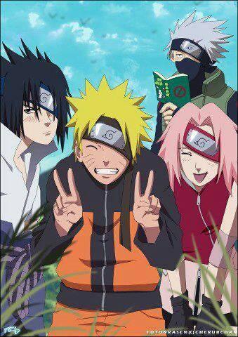 Team 7 Kakashi LOL WOW