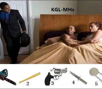 Yang manakah senjata kalian jika istri/pacar anda selingkung Koment ea nomer berapa -_-