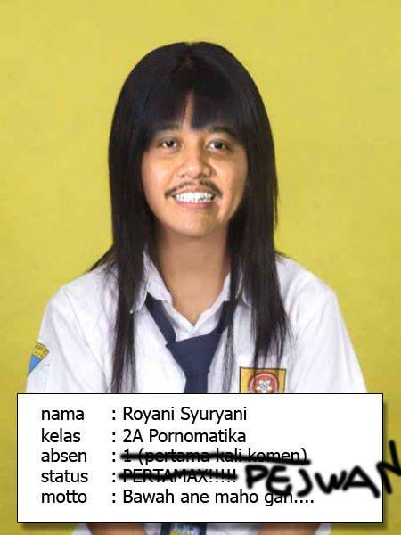 Roy Suryonah...