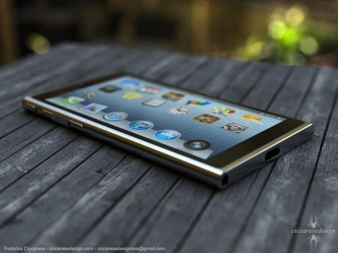 inilah Konsep design iPhone 6, Federico Ciccarese, seorang designer asal italia merancang iphone 6, terinspirasi oleh bentuk ipod Nano, namun juga sedikit memiliki kemiripan dengan Nokia Lumia.
