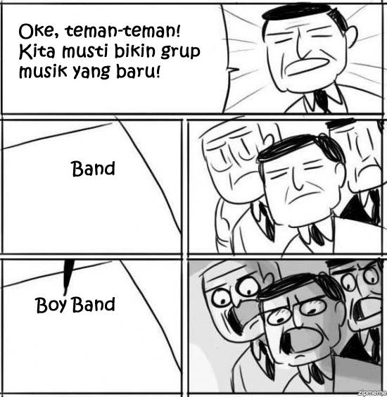 Wow bikin boyband :D