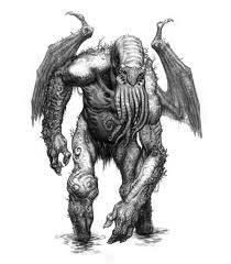 CTHULHU Cthulhu adalah entitas kosmik fiksi yang pertama kali muncul dalam cerpen The Call of Cthulhu, diterbitkan dalam majalah Weird Tales bubur pada tahun 1928. Karakter diciptakan oleh penulis HP Lovecraft.