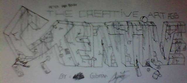 Ini graffiti buatan saya sendiri kalo bagus wow tp kalo gk bagus tetep wow