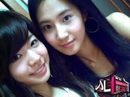 Sunny dan Yuri Girls Generation Selca