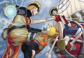 Manakah yg akan menang ? Naruto atau one piece ? WOWnya ya. thx. :D