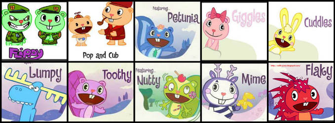Ayoo.. siapa yang Happy Tree Friends Lovers??? Mana WOW.nya