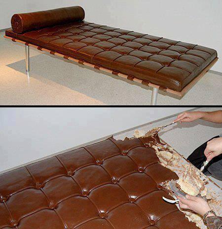 maukah kamu mendapat hadiah kue yang berbentuk kasur seperti ini? *WOW*